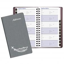 Pocket Address Book/ Frosted Cover