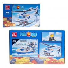 Ensemble de blocs - Hélicoptère de police - 71 pièces