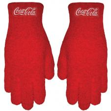 Embroidered Fuzzy Gloves