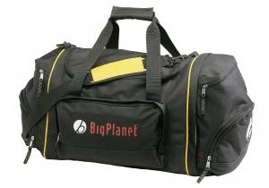 Sport bag with detachable backpack