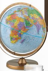 Globe Pioneer Blue Ocean Desk Globe