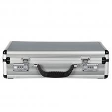 Aluminum Attaché Case w/ Contrast Details (17x12x5)