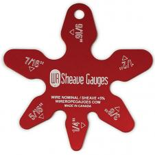 Large Star Gauge up to 1 3/8