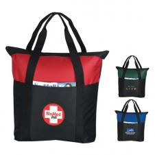 Heavy Duty Zippered Tote Bag