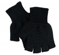 Men's Fingerless Gripper Gloves ( Blank)