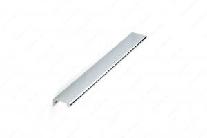 Poignée contemporaine pour rebord en métal - 9696 - 416 mm - Chrome