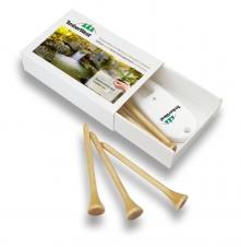 4 Color Process Printed Box w/ Printed Divot Fixer & Golf Tees