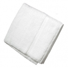 Terry Bath Towels, White, CBT03