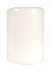 3X4 UNSCENTED PILLAR WHITE