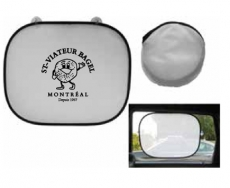 Car Sun Shade with 2 Suction Cups & Pouch