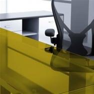 Window Films - Colored Transparent Films - Transparents - 61 011 - Yellow