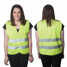 High Viz Large Safety Vest