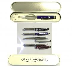 Metal Pen with LED Light & Stylus