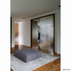 Window Films - Decorative Films - Frosted Films - INT 520 - Broken Effect Glass