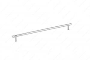 Poignée contemporain en métal - 205 - 333 mm - Chrome