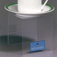 Présentoirs en acrylique - 4 W x 4 D x 4 H - Acrylique durable claire