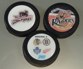 Domed Hockey Puck-Full Color Photo Quality