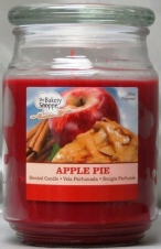 BAKE SHOP 18 OZ CANDLE JAR-APPLE PIE