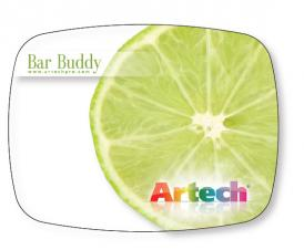 The Bar Buddy Flexible Cutting Board FDA Approved .030 Clear Plastic, Full