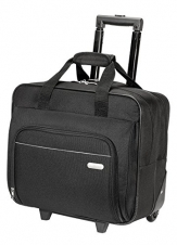 Targus TBR003CA Travel/Luggage Case (Roller) for 16 Travel Essential, Notebook - Black