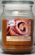 BAKERY SHOP 18 OUNCE SCENTED CANDLES CINNAMON BUN