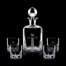 Hillcrest Decanter & 4 OTR