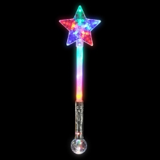Light-up LED Star Magic Ball Wand
