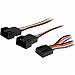 StarTech.com - 12in 4 Pin Fan Power Splitter Cable - F/M