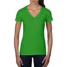 ANVIL - 88VL - T-Shirt Col en V Léger pour femme - 7.5 oz - Pomme Verte - X-Large