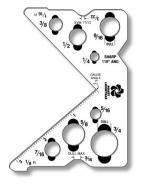 Custom Shaped Plastic Items .023 White Polyethylene (24 Sq/In); Spot Colors