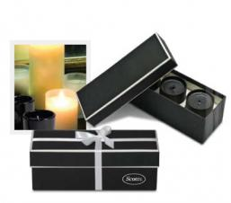 Boxed Vanilla Candle Set