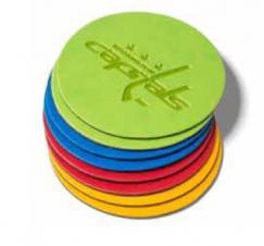 Euro 3 1/2 Round Coasters