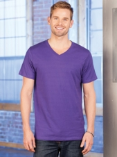 AlStyle - 5300 - Ultimate Collection - Adult V-Neck Tee - 100% Cotton Ringspun