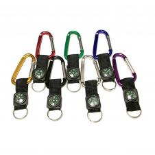 6 Cm Carabiner with Compass