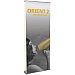 Orient 800-DBL - 31.5 x 83.25 - Retractable Banner Stand Double