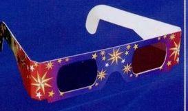 3-d Fireworks Eyeglasses