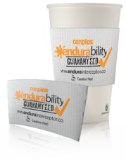 Paper Cup Sleeves/Insulators - white paper cup sleeve