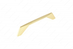 Contemporary Metal Pull - 9256 - 182 mm - Brushed Gold