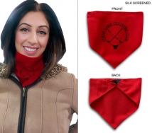 Triangle Fleece Neck Warmer