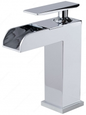 Riveo Bathroom Faucet - 6-27/32 - Chrome - Pop-Up and Cover Plate Included