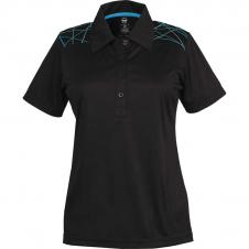 Whiteridge - 611 - Ladies Burst Golf Shirt
