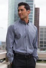 Coal Harbour - D6005 - Tattersall Check Woven Shirt - 60/40
