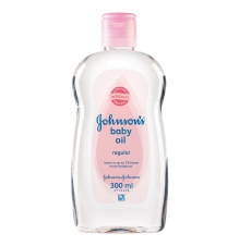 JOHNSON'S BABY OIL - 300mL