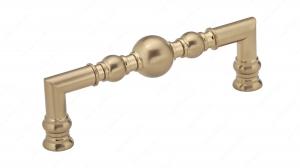 Poignée traditionnelle en métal - 8789 - 128 mm - Champagne bronze