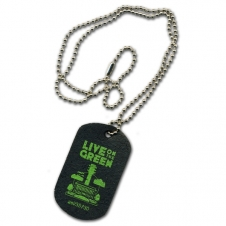 Recycled Tire Dog Tags