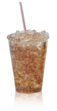 Clear Plastic Cups - rigid wall - 7oz juice
