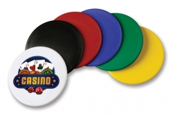 1 5/8 Diameter Plastic Tokens
