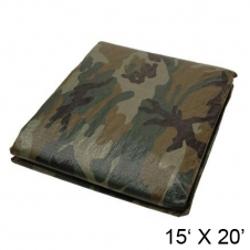 HARVEY TOOLS - BÂCHES - 15' X 20' - CAMO