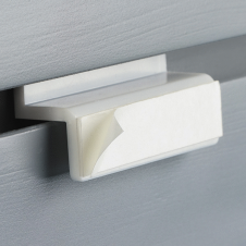 Brochure Holder Accessories - Slatwall Bracket with Permanent Adhesive