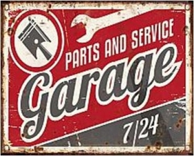 TIMBER - TIN SIGN PARTS AND SERVICE GARAGE